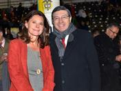 Vicepresidenta de Colombia y Secretario General de la CAN.