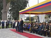 Embajador César Montaño Huerta, Secretario General ad-interim de la CAN y funcionarios ecuatorianosde la Secretaría General.