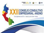 Mañana en Bolivia se realizará reunión de reactivación del Consejo Consultivo Empresarial Andino