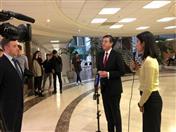 Secretario General brindó una entrevista al canal Russia-24.