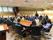 Conferencia en Universidad MGIMO.