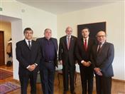 Con Embajadores de la CAN en Rusia.