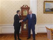 Reunió con el Canciller (e) Serguei Ryabkov.