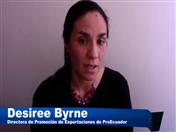 Desiree Byrne, Directora de Promoción de Exportaciones de ProEcuador.