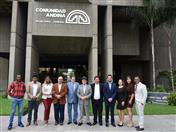 Estudiantes del Doctorado de la Universidad Andina Simón Bolívar en Derecho Constitucional.