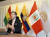 Secretario General de la Comunidad Andina, Jorge Hernando Pedraza