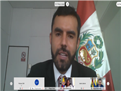Viceministro de Comercio Exterior de Perú, Diego Llosa