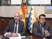 Viceministro de Comercio Exterior e Integración de Bolivia, Benjamín Blanco