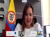 Viceministra de Comercio Exterior de Colombia, Laura Valdivieso