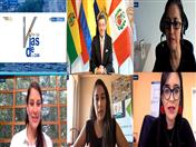 Conferencia sobre mujeres, transporte y seguridad vial fue el tema abordado en la sexta conferencia del proyecto
