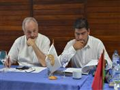 Directores de la Secretaría General de la CAN, José Antonio Arróspide y Clarems Endara.