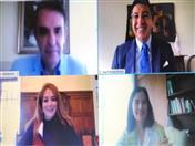 Reunión con los Embajadores andinos en Perú.