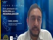 Viceministro de Comercio Exterior de Ecuador, Daniel Legarda.