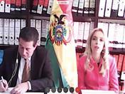 Viceministra de Comercio Exterior de Bolivia, Claribel Aparicio.