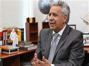 Presidente Lenin Moreno de Ecuador.