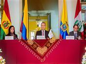 Colombia asumió Presidencia Pro Témpore de la Comunidad Andina