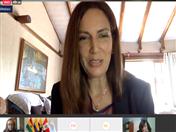 Directora de Educación online de la Universidad Internacional UISEK de Ecuador, Alegría Crespo