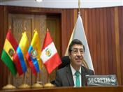 Secretario General de la Comunidad Andina, Jorge Hernando Pedraza.