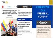 Estrategia de la CAN frente a la pandemia fue presentada en el Congreso de la República del Perú