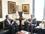 Productiva reunión entre el secretario general de la CAN y el presidente ejecutivo de CAF