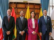 XLIX Consejo Andino de ministros de Relaciones Exteriores Ampliado con los Representantes Titulares ante la Comisión de la CAN.